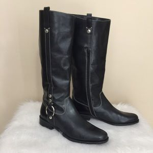 JOAN AND DAVID CIRCA EQUESTRIAN TALL RIDING BOOTS